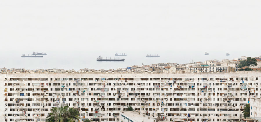 Alger - Bab-El-Oued N°2 - 2013 - C-Print - Edition Of 5 - 140 X 300 Cm - Edition Of 5 - 70 X 149 Cm © Stéphane Couturier