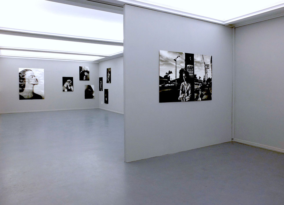Projektraum PhotoWerkBerlin - EyeContact, Installation View