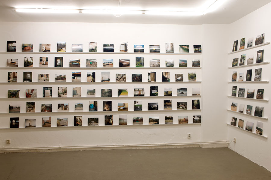 "© Uta Neumann, Stranded Places & Other Landscapes"" At STRAHLER Berlin, Installation View"