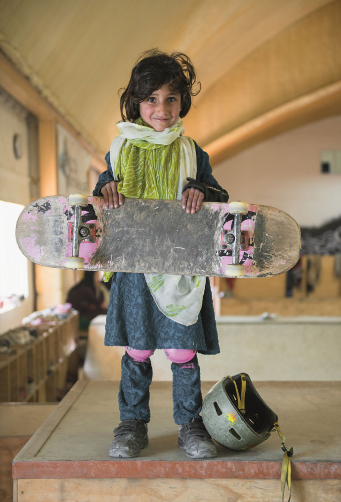 "Exhibition ""Skate Girls Of Kabul"", Galerie Pavlov's Dog © Jessica Fulford-Dobson, 2015"