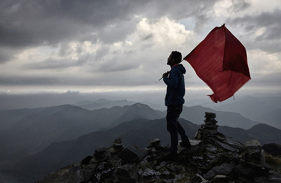Red Flag / Rote Flagge, 2015 © Ivo Berg