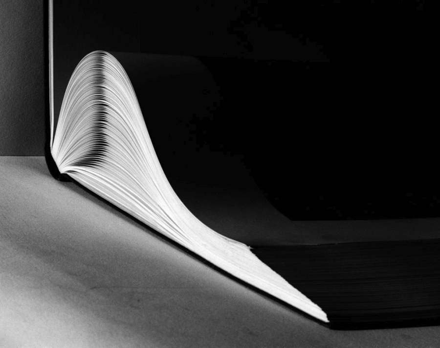 Untitled (Open Book), Ca. 1930, Gelatin Silver Print (2015) © Hein Gorny / Collection Regard