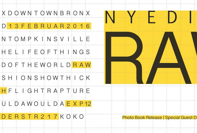 Exp12 |Book Launch: New York Edited. Raw
