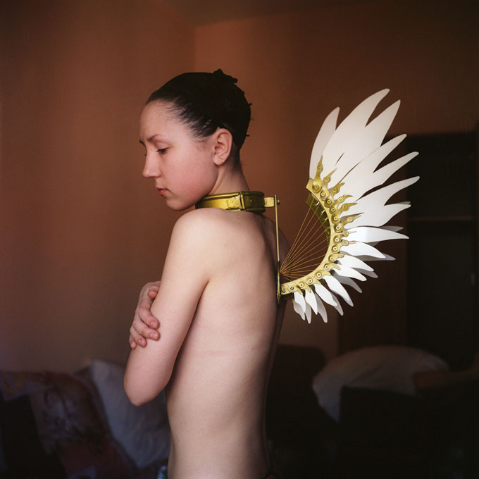 © Mariya Kozhanova, Metal Wings, From The Series Declared Detachment