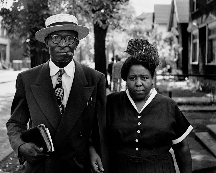 Husband And Wife, Sunday Morning, Detroit, Michigan, 1950. Photograph By Gordon Parks, Courtesy Of And © The Gordon Parks Foundation