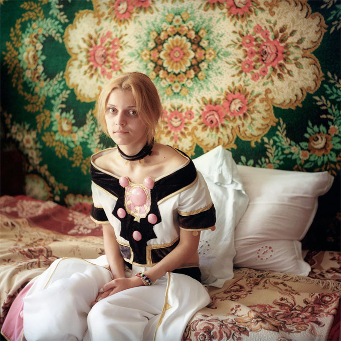 Teenage Princess, 2013, From Declared Detachment © Mariya Kozhanova