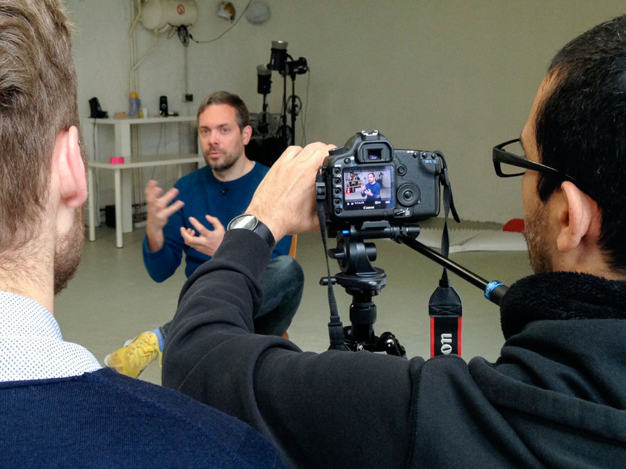 Film Interview With Jan Von Holleben, Photo: Marc Volk