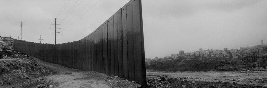 Shu'fat Refugee Camp, Overlooking Al 'Isawiya. East Jerusalem © Josef Koudelka / Magnum Photos