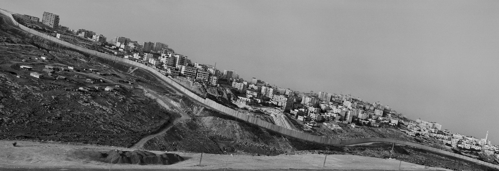 Shu'fat refugee camp (detail) © Josef Koudelka / Magnum Photos