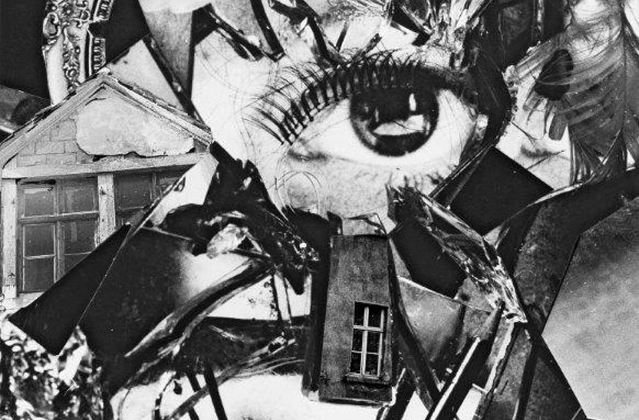 Barbara Wolff (*1951), Zyklus/Cycle: Collage, Silber Gelatine Print/silver Gelatin Print, Mixed Media, 34,5x25,9 Cm, 1975 © Barbara Wolff