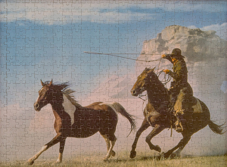 Puzzle, From The Series Cowboy By Choice © Ulrike Schmid