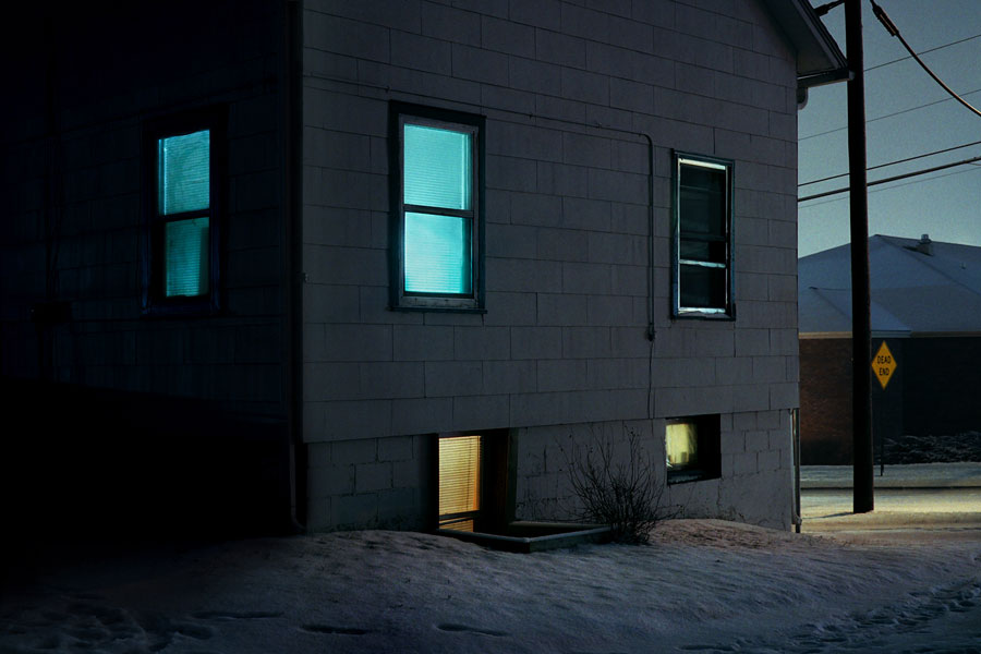 House At Night, 2007 © Christian Patterson