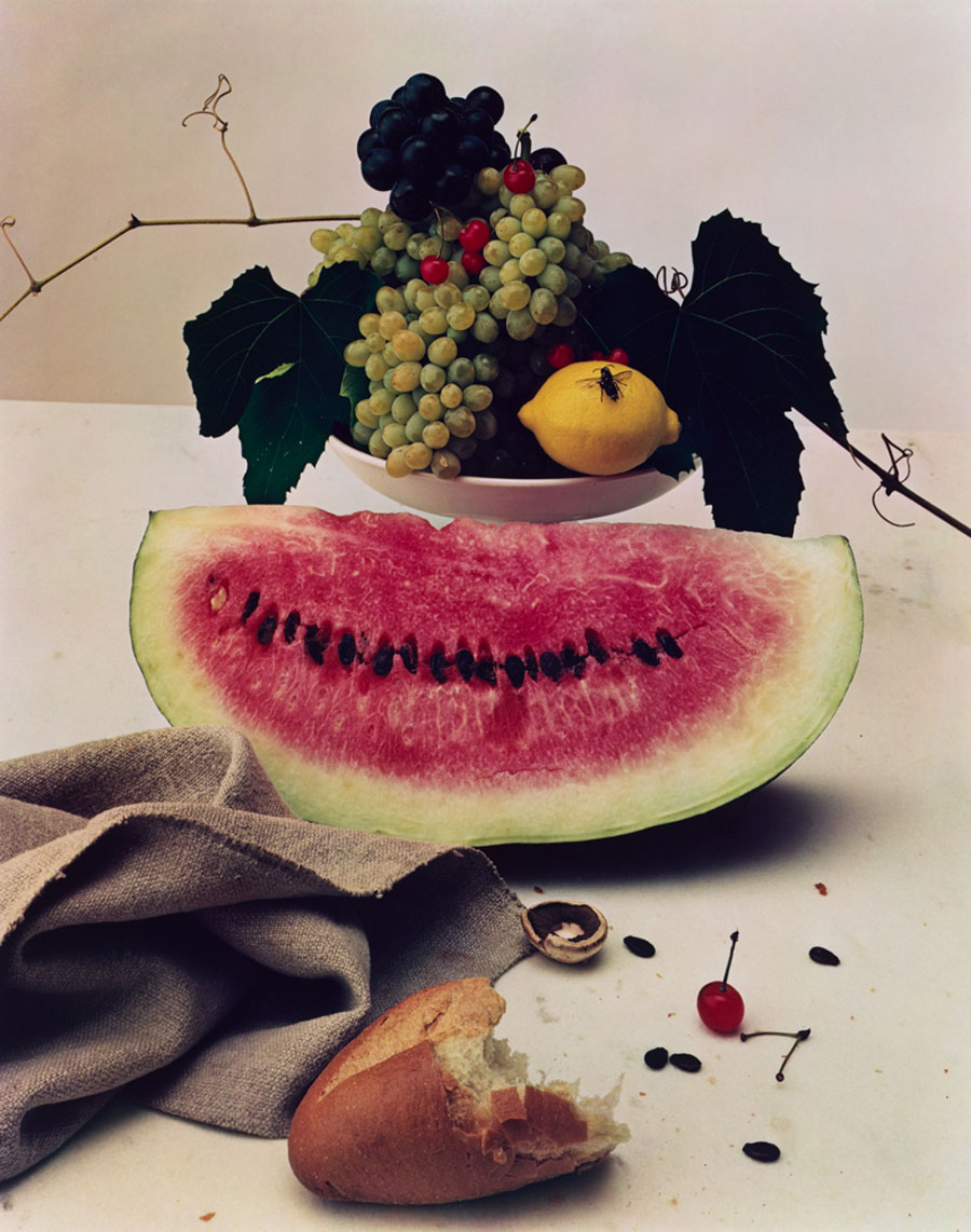 Irving Penn, Still Life With Watermelon, New York , 1947 © Condé Nast
