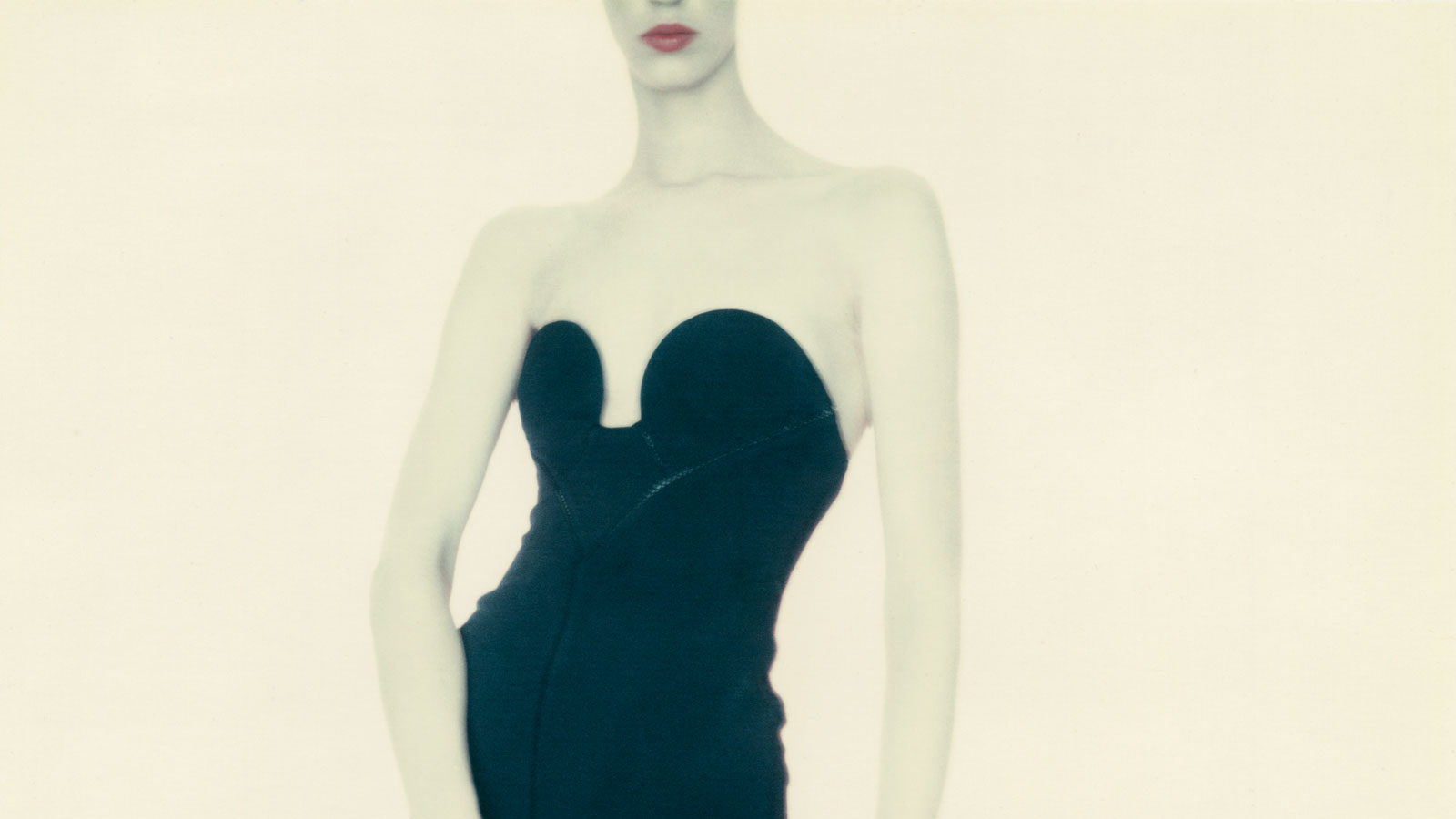 Detail Of: Paolo Roversi, Meg, Alaïa Dress, 1987 © Paolo Roversi