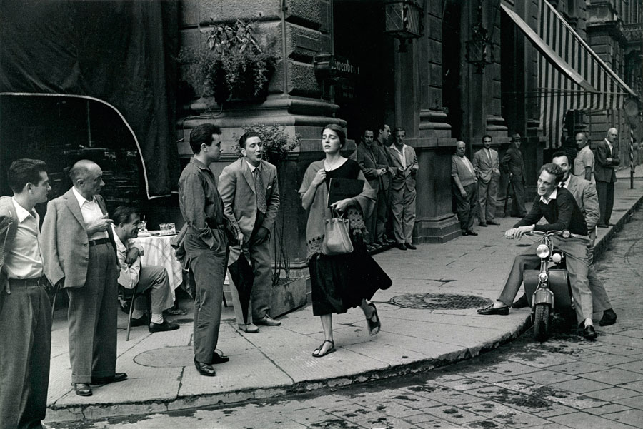 © Ruth Orkin Photo Archive, American Girl In Italy, 1951