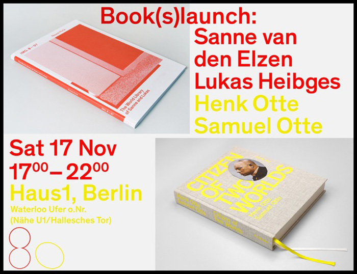 Book(s)launch Of: IMG. 0–97 NOWA HUTA | The World Library Of Sanne And Lukas, And Of Samuel And Henk Otte — Citizen Of Two Worlds