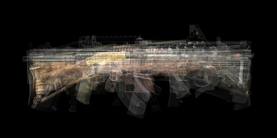 "© Wehr, Susanne: ""ultraimage – Survival Rifle"", 2018/19"