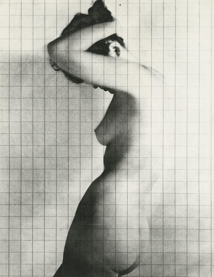 Erwin Blumenfeld, Nude Under Grid, New York, 1950 © 2019 The Estate Of Erwin Blumenfeld, Courtesy Howard Greenberg Gallery, NYC