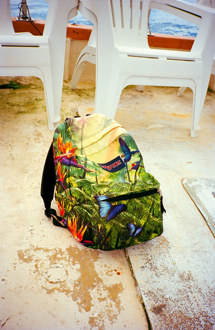 Jiwon Kim, Jansport, From The Series Paradise Complex, 2018-2019 © Jiwon Kim