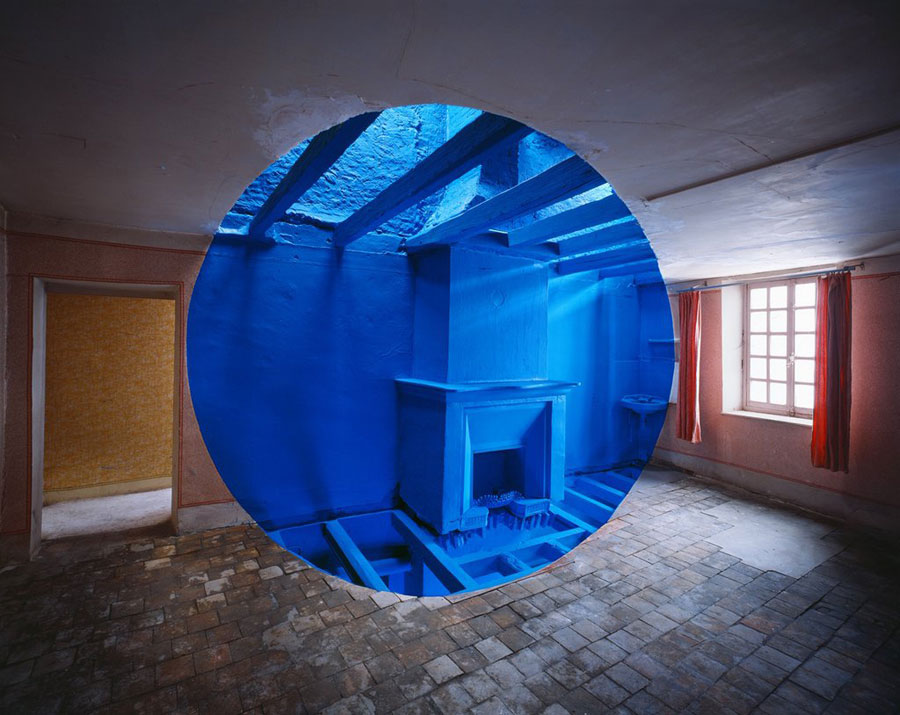 Georges Rousse, Chasse-sur-Rhone, 2010, C-print, 125 X 159 Cm, Signed/dated/titled/numbered By Label On Verso, Edition-No.: Ed. 5 © Georges Rousse