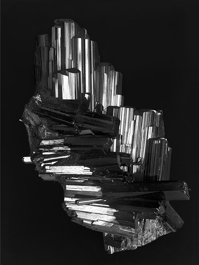 Alfred Ehrhardt, Epidote, Knappenwand, Untersulzbachtal, Glass Plate Negative 1938/1939, Reprinted 2019, 80 X 60 Cm © Alfred Ehrhardt Stiftung