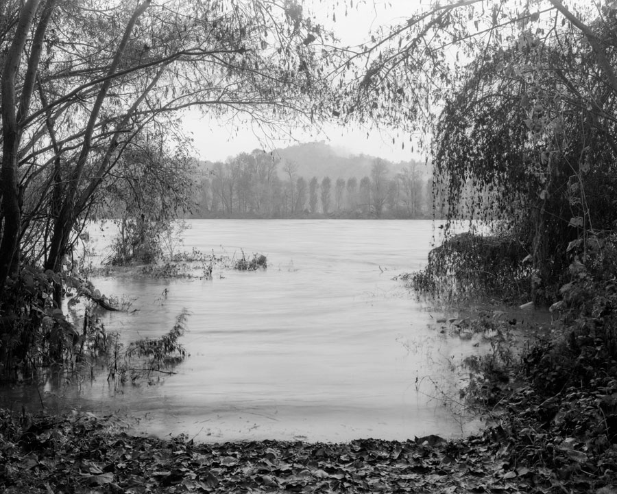 Po #412, 2019, From The Series TO THE RIVERS / AN DEN STRÖMEN, 92 X 115 Cm, Gelatin Silver Prints © Ute Mahler & Werner Mahler