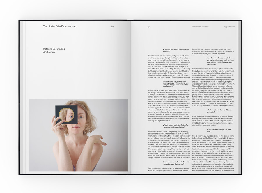 KOCMOC – Publishing Space | Katerina Belkina »My Work Is My Personal Theatre«