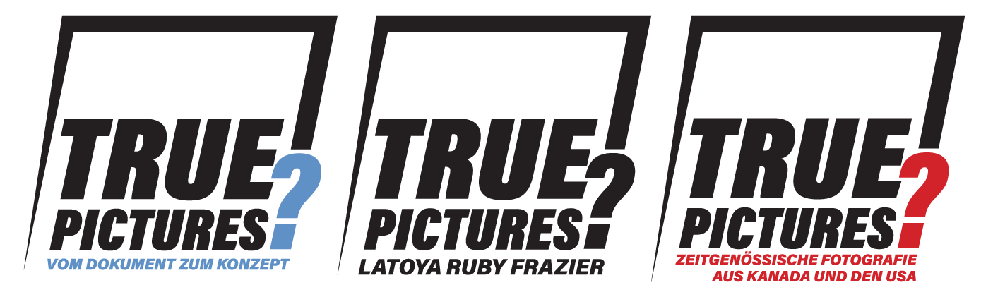 'True Pictures? From Document To Concept. Positions Of Contemporary Photography From The USA  Museum Für Photographie Braunschweig + Sprengel Museum Hannover + Kunstmuseum Wolfsburg