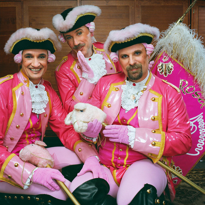 »Rosa Funken«, Another Traditional Club In The Cologne Carnival © Sabine Von Bassewitz