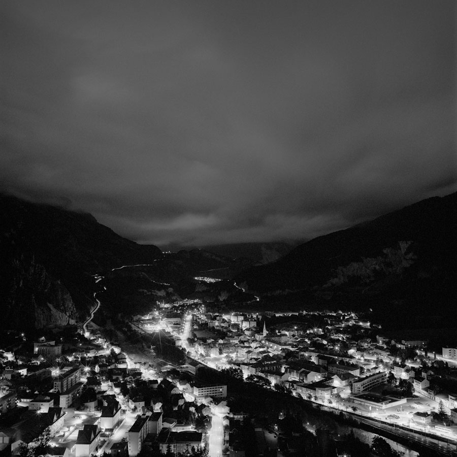 Sept. 16, Modane, From The Series And Monograph »Log Book« © Mike Chick