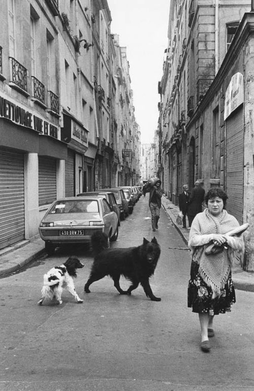"Roger Melis, Rue Marie-Stuart, 1982, From The Series ""Paris By Foot"" © Roger Melis Estate / Mathias Bertram"