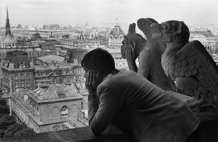"Roger Melis, Notre-Dame, 1982, From The Series ""Paris By Foot"" © Roger Melis Estate / Mathias Bertram"